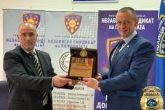 Сарадња са Независним Синдикатом Полиције Македоније