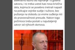Председник ИПО Илија Животић дао је подршку припадницима МУП у разговору за Курир