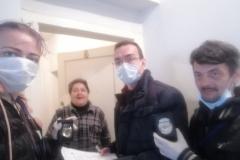 Pejko Sekulovski I Katarina Jovic  volonteri u Nisu