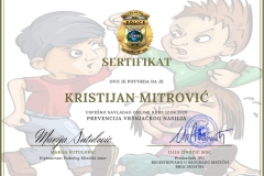 primer sertifikata